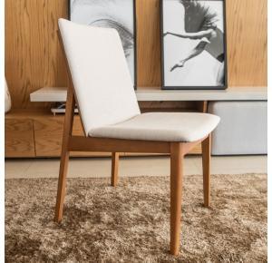 Cadeira Clau Lx com revestimento Caramelo - Pollus