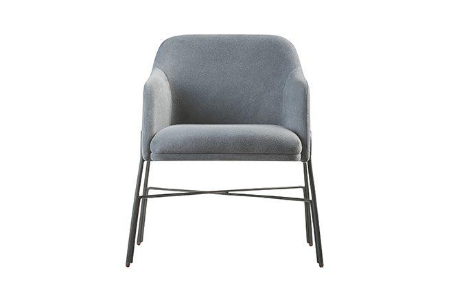 Cadeira New com braço - metal