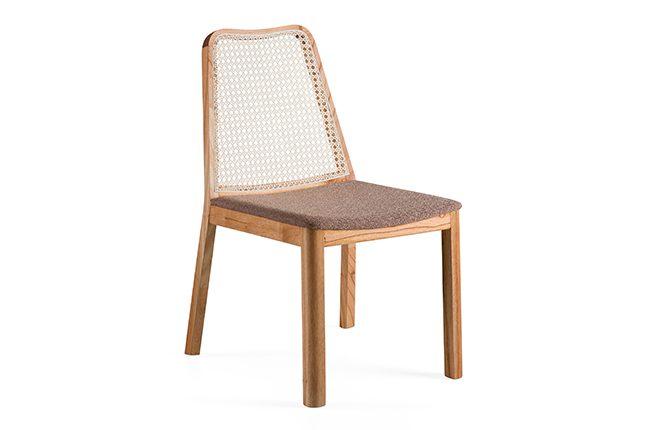 Cadeira Sal - encosto Palhinha