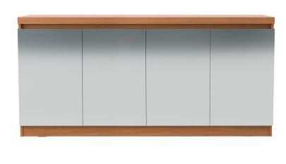 Buffet Truzzi Espelhado 160 cm natural