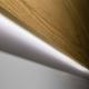 Rack com Painel Collins com Led 180cm Cinamomo c/ Off White Fosco - Província