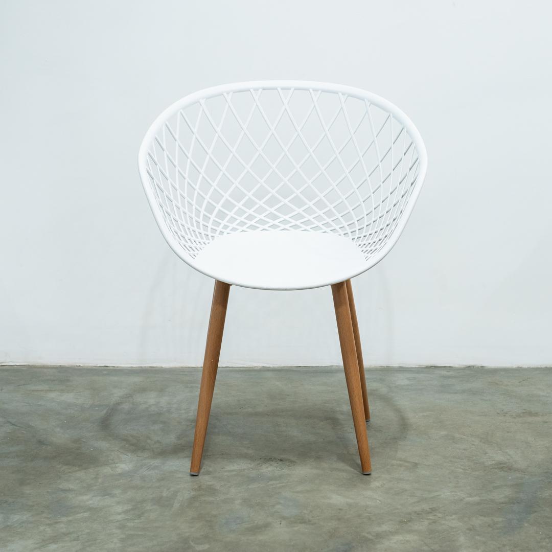 Cadeira Clarice Branca - Rivatti