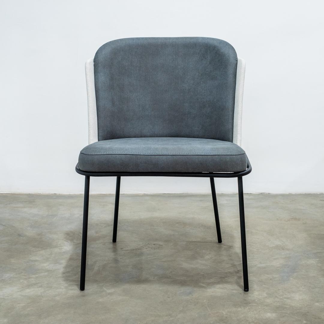 Cadeira Oslo Base Preta Fosca T-3080 TEC Costas 2061 - Suffa