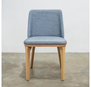 Cadeira Livia Madeira na cor Palha T-1047 - Suffa