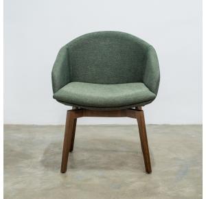 Cadeira Dim Base Fixa TEC 726 G Nogueira - Destack