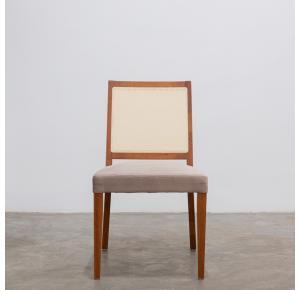 Cadeira 3224 com encosto em telinha de palha natural - Herval