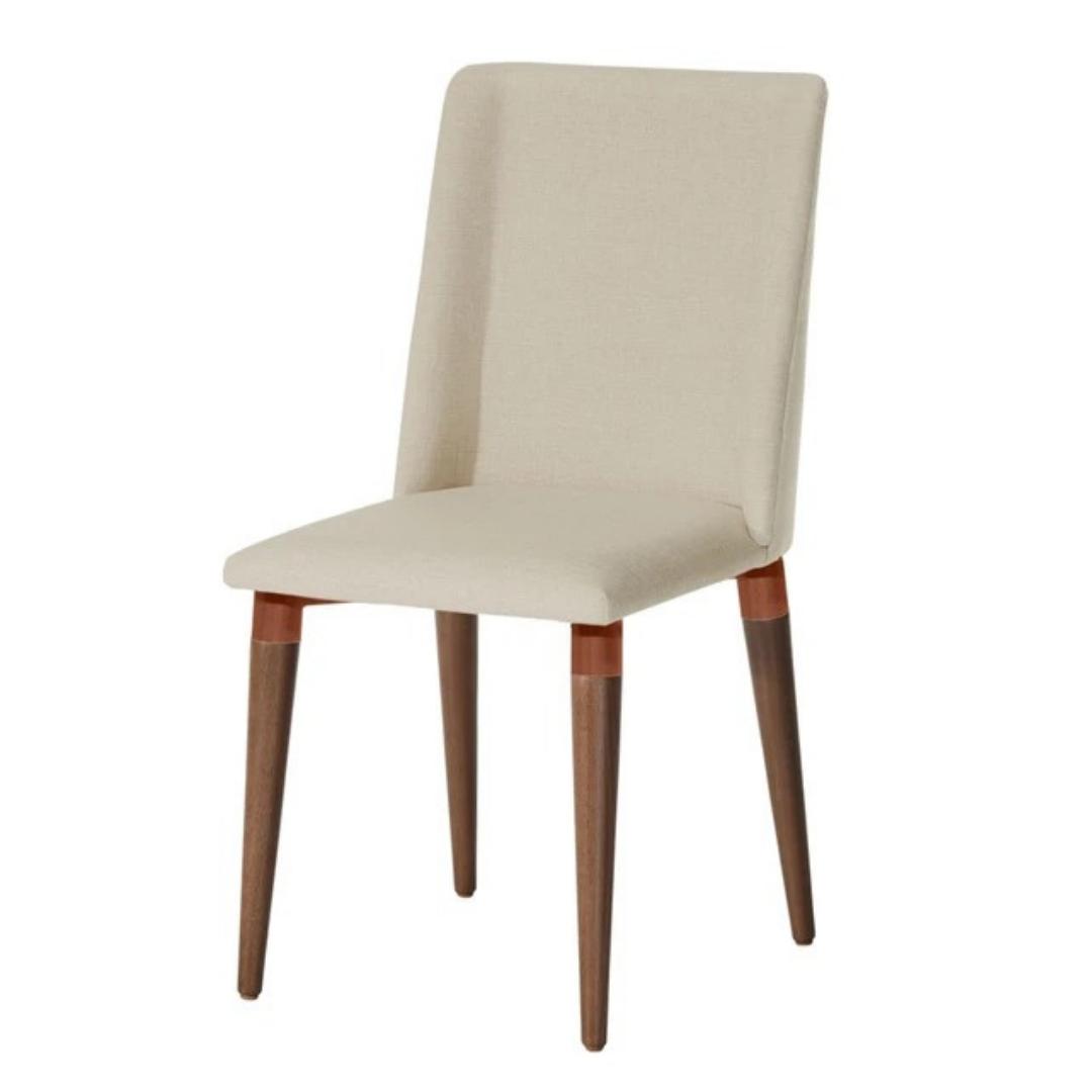 Cadeira Thyra Linho - Off-White - Natural - Província