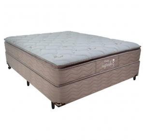Colchão Probel de Molas Pocket Segredo Pillow Top Queen (158cmX198cmX30cm) - Sem Cama Box