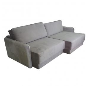 Sofa Retrátil Cairo Veludo 220cm - Serra Gaúcha
