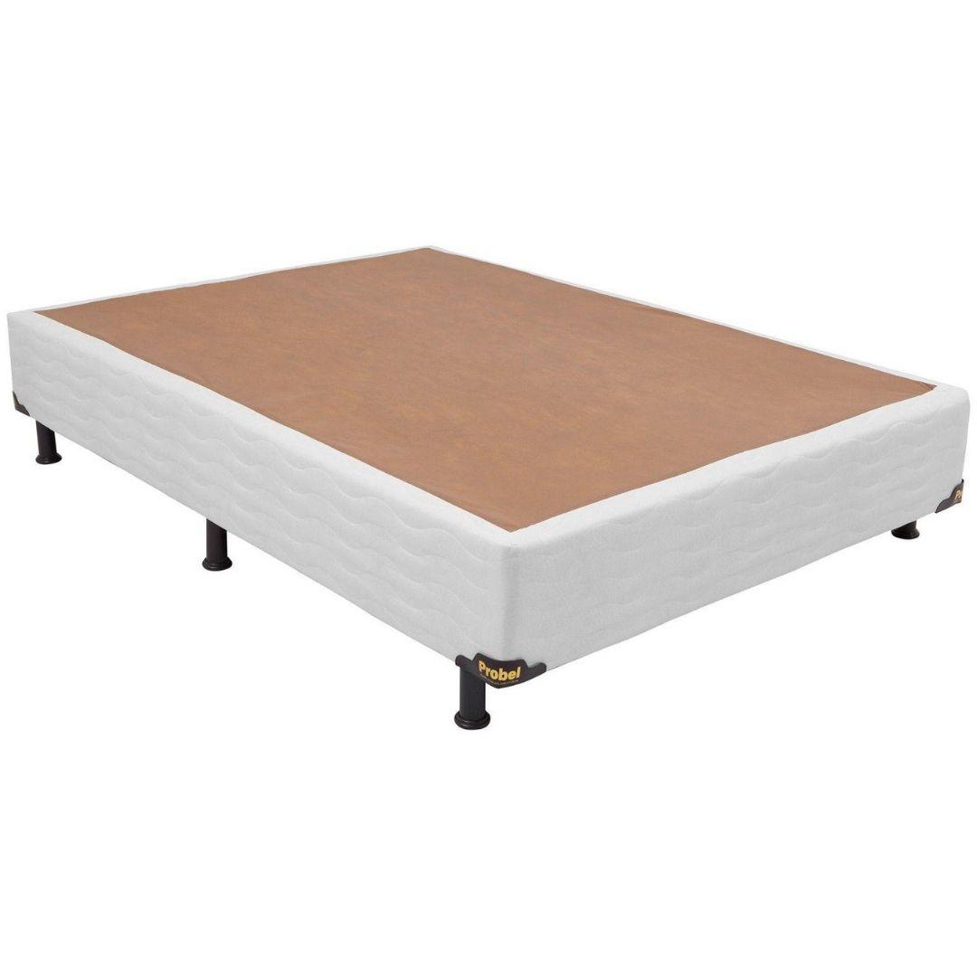 Cama Box Casal 138X188X26 Palha - Probel