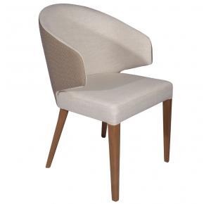 Cadeira de Jantar Willians com Braço - Sier