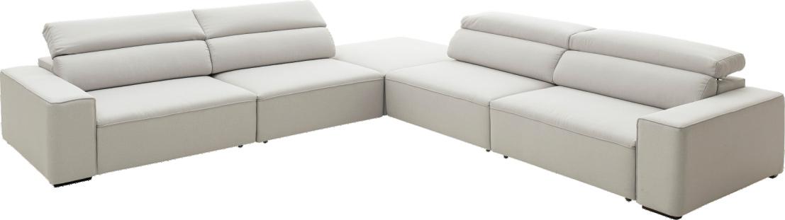 Sofá retrátil  e reclinável Loreto